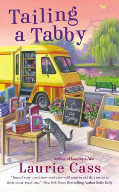 In the bookmobile, librarian Minnie Hamilton and her rescue cat, Eddie, roll out great summer reads to folks all over the lake town of Chilson, Michigan. And when real-life drama turns deadly, Minnie