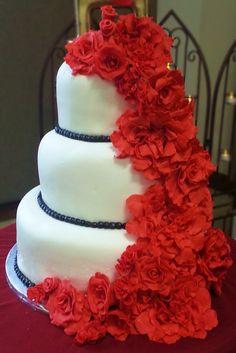 amazin weding cake - Layers of Love