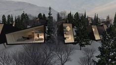 Stinessen Arkitektur Seasons Activities, Alpine Skiing, Tromso, Mountain Resort, Arctic, Norway, Country, Architecture, Design