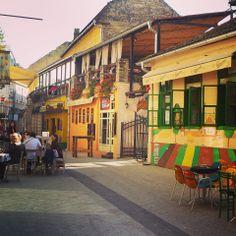 Laze Teleckog street, Novi Sad, Serbia