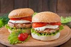 Nutrisystem provides a delicious and healthy recipe for a Caprese Turkey Burger.