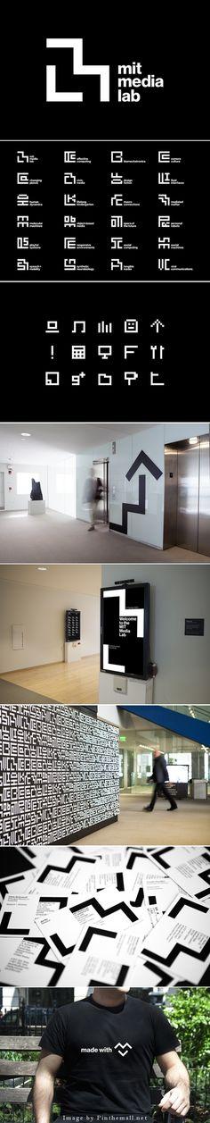 MIT Media Lab branding | Pentagram