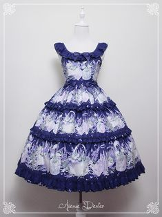 Avenue Denfer -Lavender- Lolita Jumper Dress