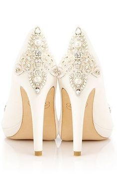 Heavenly Bridal Shoes from Emmy London