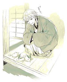 Touken Ranbu, Cute Anime Guys, In My Feelings, Sword, Otaku, Anime Art, Kawaii, Fan Art, Cartoon