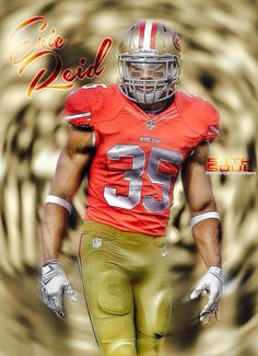 Eric Reid Football Players, Football Helmets, Eric Reid, 49ers Fans, San Francisco 49ers, 4 Life, My Love, Quotes, Sports