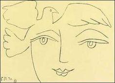 P.Picasso - Il volto della Pace