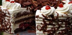 Veja a Deliciosa Receita de Receita de Torta floresta negra. É uma Delícia! Confira!