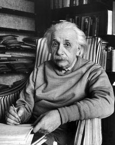 Albert Einstein, Princeton, 1948. Alfred Eisenstaedt