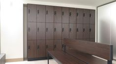 Beautiful interior design for Fitness center Elite. With high quality and finished Prefino lockers and Vitas benches.  With our High-end RS Electronic locking system.   See project: https://www.olssen.nl/projecten-advies-op-maat/80/sportclub-elite-prefino-design-lockers.html