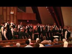 Oasis Chorale performing Lift Your Glad Voices - John E. Gould, arr. Lloyd Kauffman. This song was from the concert at The Church of the Good Samaritan in Paoli, PA, July 30, 2011 and has audience participation. Directed by Wendell Nisly.