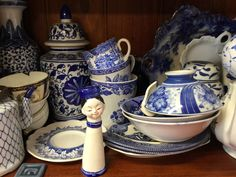 Need some blue and white china?  Plenty on hand ready for the next project.