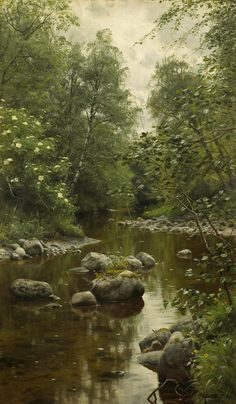 The Brook, 1904, Peder Mørk Mønste