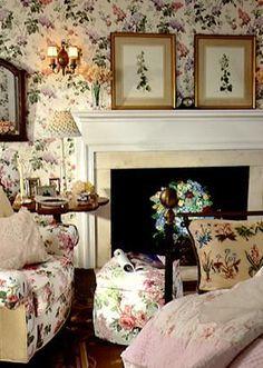 """Cosy English Cottage"" Home Interior Design: Style Guide: English Country House English Cottage Style, English Country Decor, Country Chic Cottage, English House, English Cottages, English Style, Country Cottages, French Cottage, Country French"