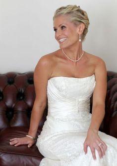 Annabel Sherman stunning wedding dress by Skarr Bridal