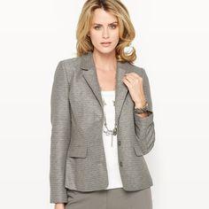 Textured Weave Jacket ANNE WEYBURN
