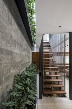 Lovely with on the side The JZL House is designed by Bernardes Arquitetura and is located in // Photo by Leonardo Finotti - Architecture and Home Decor - Bedroom - Bathroom - Kitchen And Living Room Interior Design Decorating Ideas - Design Exterior, Interior And Exterior, Wall Exterior, Contemporary Interior, Luxury Interior, Modern Home Interior, Contemporary Stairs, Bedroom Modern, Architecture Design