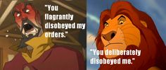 "Lion King + Legend of Korra = 8D Someboys comment: ""And what's worse, you put Nagga in danger!"""