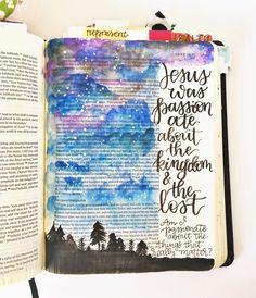 Bible Journaling by @graceveenker