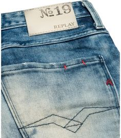Jeans Uomo Slim - Replay Maestro Selection ANBASS 855 570 - Replay