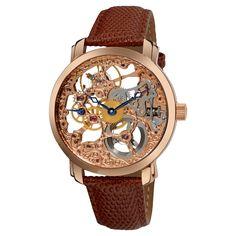 Akribos XXIV Men's 'Davinci' Mechanical Watch