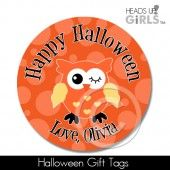 Halloween Gift Tags with Owls 7