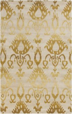 2' x 3' Arabian Princess Royal Gold and Thobe White Hand Tufted Wool Area Rug Diva At Home http://www.amazon.com/dp/B00KC72JMI/ref=cm_sw_r_pi_dp_uaa6tb16TJVHW