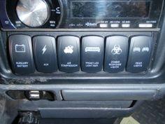 Custom Switches in my Toyota Tacoma - Imgur
