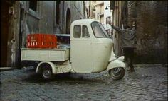 Yup, that's right I want a Piaggio Ape