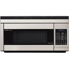 Sharp 1 Cu Ft Over The Range Convection Microwave Oven