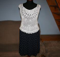 summer crochet top