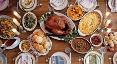 Huge collection of Thanksgiving recipes from Bon Appetit