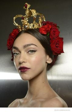 Another Look at Dolce & Gabbana's Spanish-Sicilian Beauty for Spring (via Bloglovin.com )