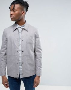 ASOS Smart Worker Jacket In Grey Marl