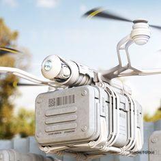 Delivery Drones [Future Drones: http://futuristicnews.com/tag/drone/ Drones for Sale: http://futuristicshop.com/tag/drone/]