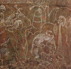 Etruscan. Ficorini Cista. Argonauts Training in Boxing. | Flickr - Photo Sharing! Tarih?