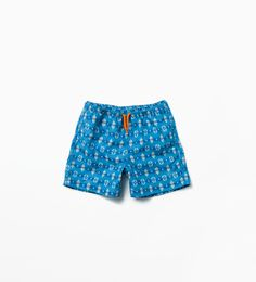 Image 1 of PRINTED SWIMMING SHORTS from Zara