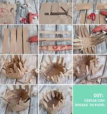 cestas de papel - Buscar con Google Crafts For Kids, Arts And Crafts, Paper Crafts, Diy Crafts, Art And Craft Design, Diy Design, School Art Projects, Projects To Try, Paper Weaving