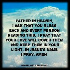 I pray this for you with great sincerity. May God touch your spirit today. God Prayer, Prayer Quotes, Bible Quotes, Qoutes, Prayers For Sister, Special Prayers, Biblical Verses, Scriptures, Bible Verses