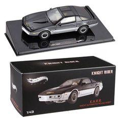 Knight Rider K.A.R.R. Hot Wheels Elite 1:43 Scale Vehicle