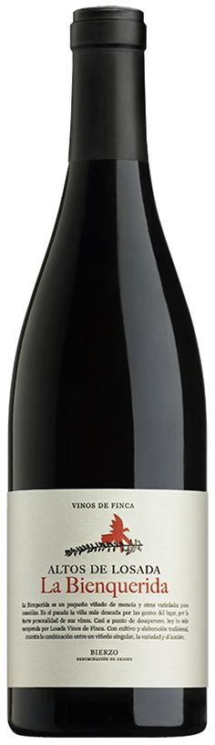 """Red wine from the vineyard """"La Bienquerida""""(Mencía and other varieties) La Bienquerida is a small vineyard of mencía and other varieties little known. In the past the vineyard most desi…"""