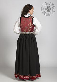 Sognebunad til dame - BunadRosen AS Joan Holloway, Mad Men, Lace Skirt, Victorian, Skirts, Dresses, Blog, Fashion, Gowns