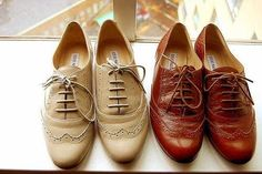 Woman's oxfords