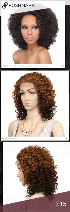 Outre Synthetic Lace Front Wig - ABELLA (futura) Lace has been cut off, but never worn out.  In the color DX3033 is what's shown on the last three pictures Accessories Hair Accessories