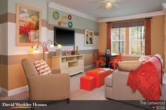 Bright bonus room space in The Lenwood Model - Charleston, SC
