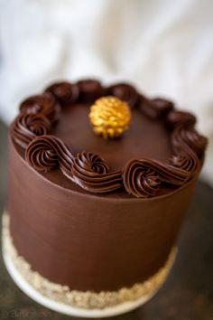 Ferrero Rocher Cake-5