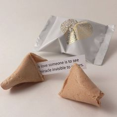 Wedding Fortune Cookies Wedding Favours