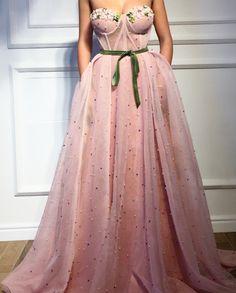 Tuscan Pink TMD Gown – Teuta Matoshi Duriqi™