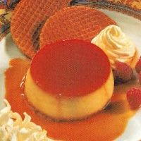 American Creme Caramel recipe