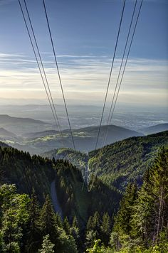 Black Forest ~ Cable Car ~ Sunset ~ Germany